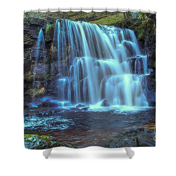 East Gill Force Shower Curtain