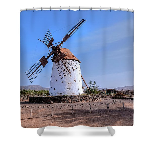 El Cotillo - Fuerteventura Shower Curtain