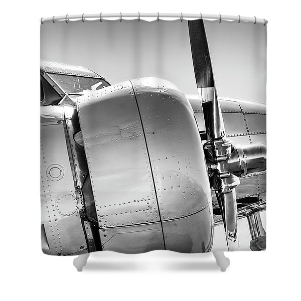 Electra Profile Shower Curtain
