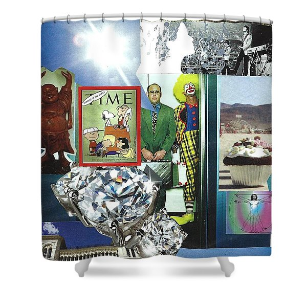 Embrace Light And Laughter Shower Curtain
