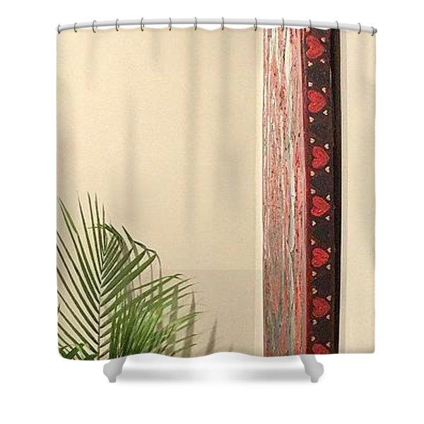 Eternal Hearts Shower Curtain