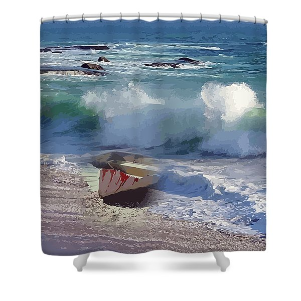 Everything Returns To It's Source Shower Curtain