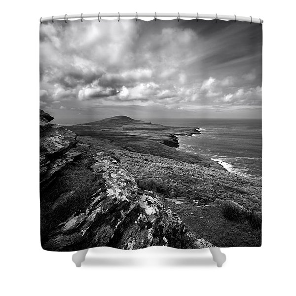 Feaghmaan West Shower Curtain