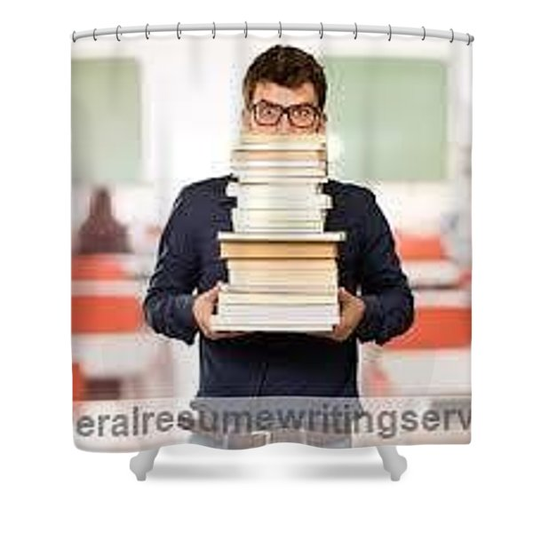 Federal Resume Writing  Shower Curtain