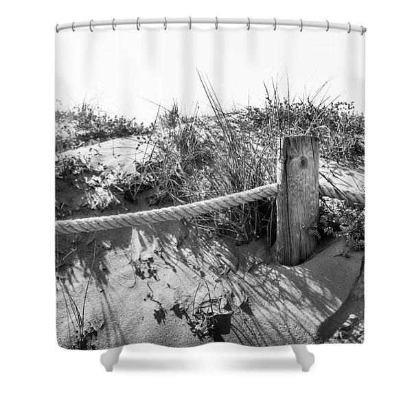 Fence Post. Shower Curtain