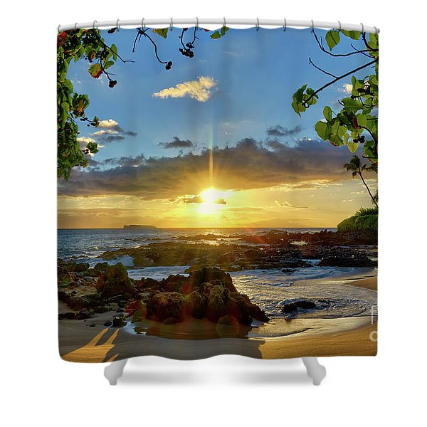 Find Your Beach Shower Curtain