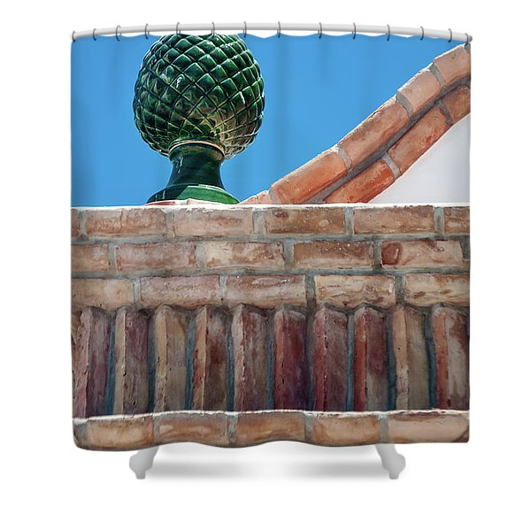 Finial Shower Curtain