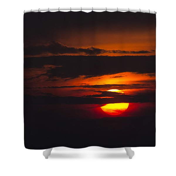 Fireball Shower Curtain