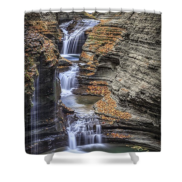 Flow Gently Shower Curtain
