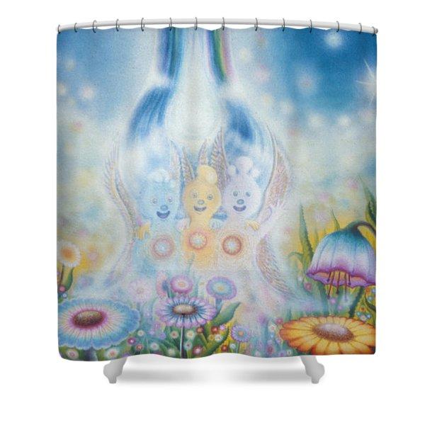 Flower Fairies Shower Curtain