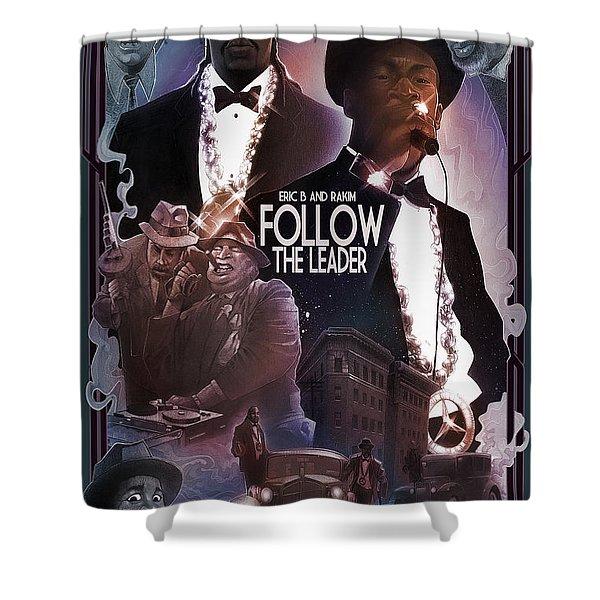 Follow The Leader 2 Shower Curtain