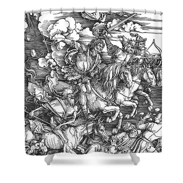 Four Horsemen Of The Apocalypse Shower Curtain