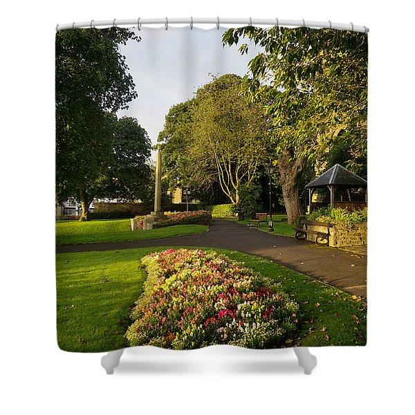 Friary Gardens, Richmond Shower Curtain