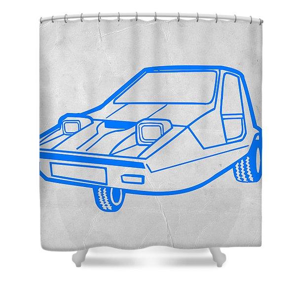 Funny Car Shower Curtain