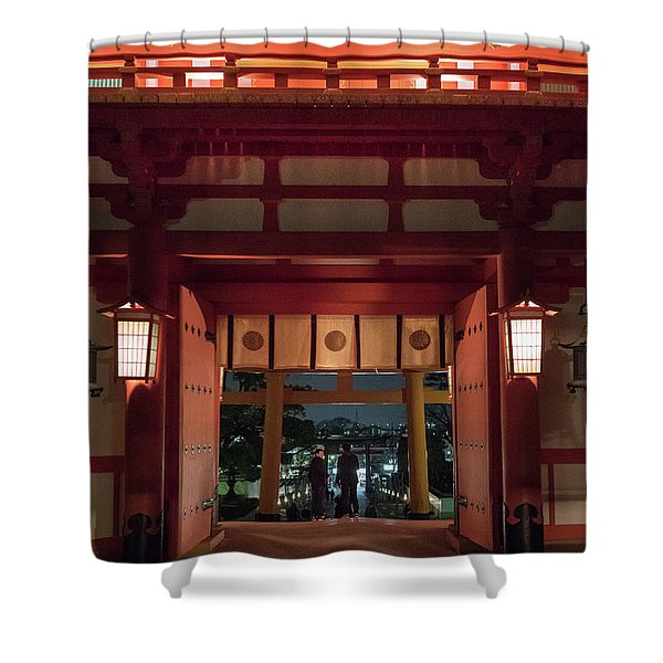 Fushimi Inari Taisha, Kyoto Japan Shower Curtain
