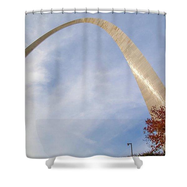 Gateway Arch St. Louis Missouri Mo Usa Shower Curtain