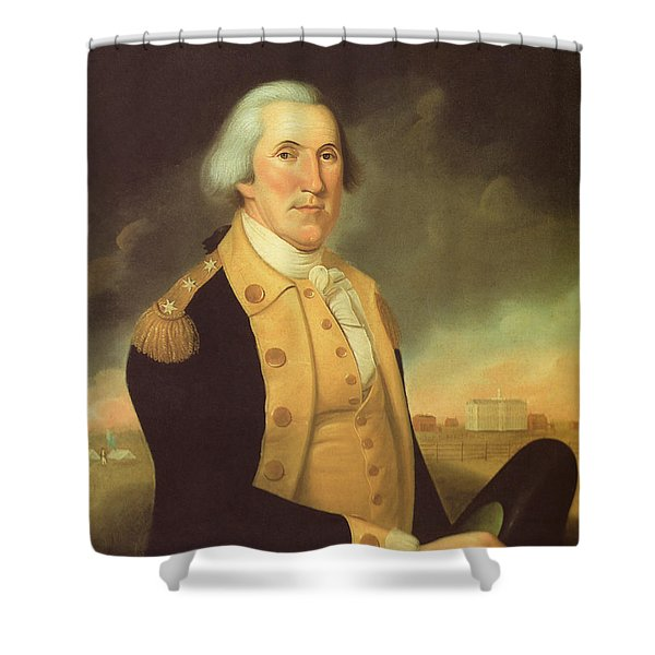 General George Washington Shower Curtain
