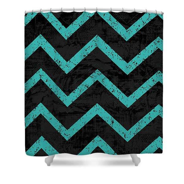 Geometric 4 Shower Curtain