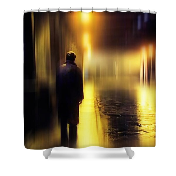 Ghost Of Love  Shower Curtain
