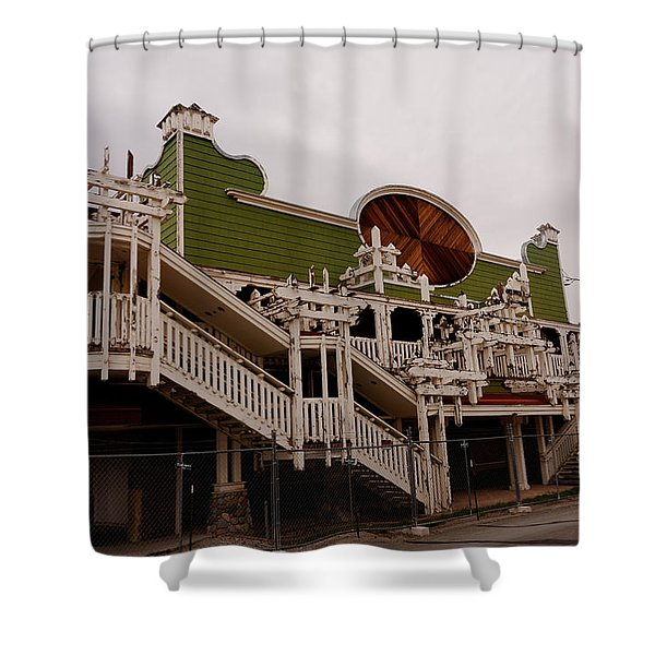 Ghostcasino Shower Curtain