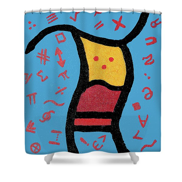 Go Figure Shower Curtain
