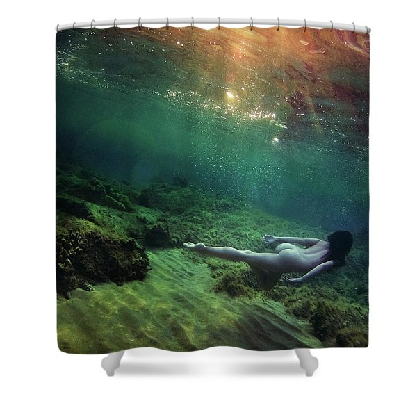 Going Home II Shower Curtain