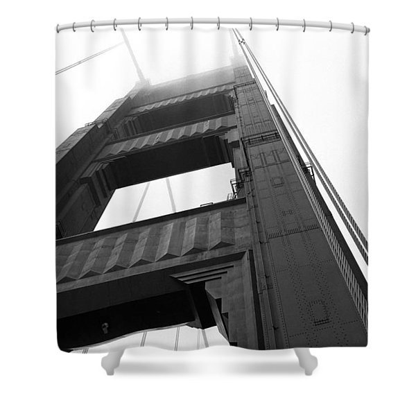 Golden Gate Tower 2 Shower Curtain