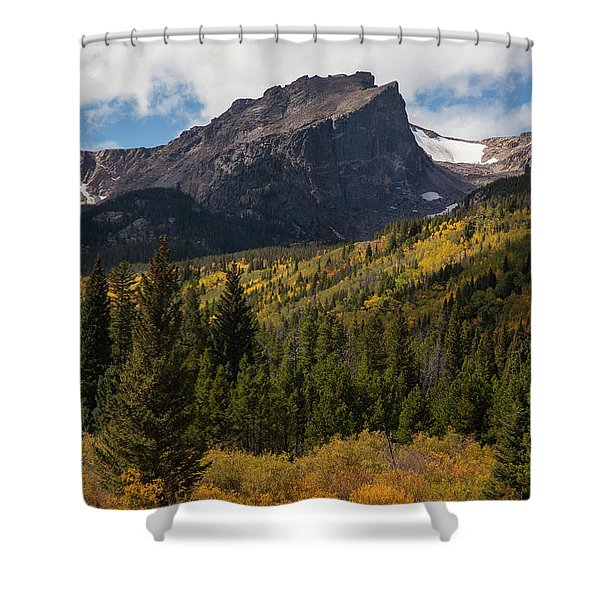 Hallett Peak Shower Curtain