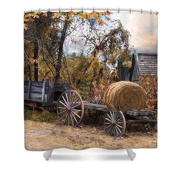Handmade And Homegrown Shower Curtain