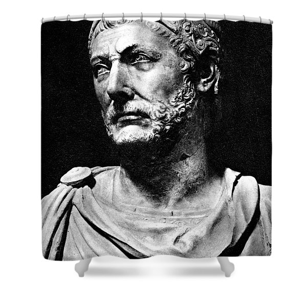 Hannibal, Carthaginian Military Shower Curtain