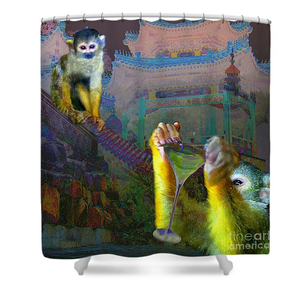 Happy Chinese New Year Shower Curtain