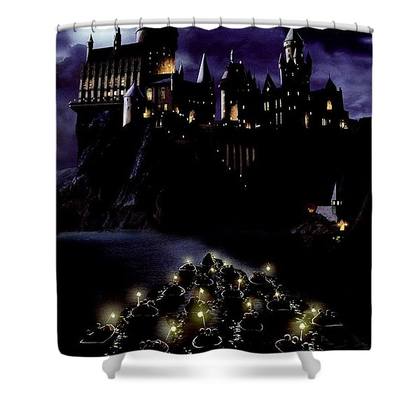 Harry Potter And The Sorcerer's Stone 2001  Shower Curtain