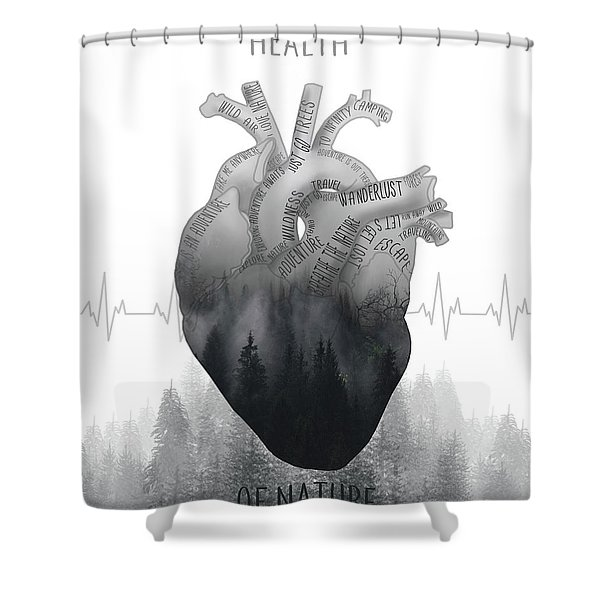 Health Of Nature Shower Curtain
