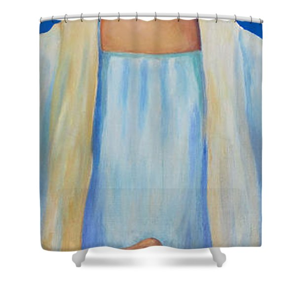 Helen Keller Shower Curtain