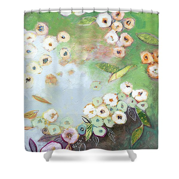 Hidden Lagoon Part I Shower Curtain