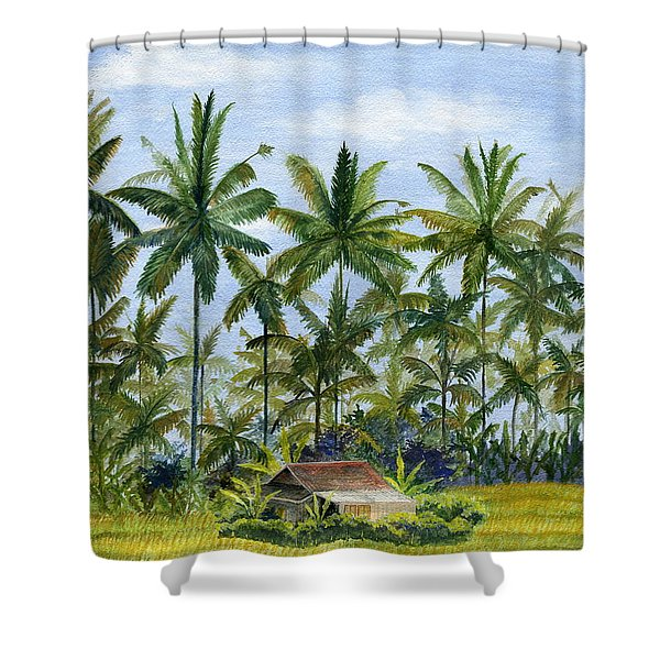Home Bali Ubud Indonesia Shower Curtain