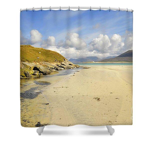 Horgabost Beach Shower Curtain