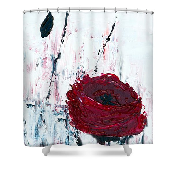 Impressionist Floral B8516 Shower Curtain