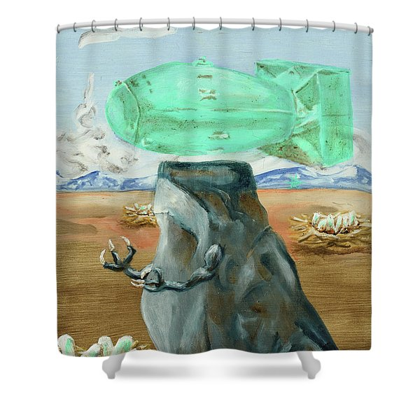 Incubator Of Anxiety Shower Curtain
