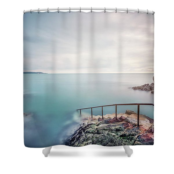 Into The Depths Shower Curtain