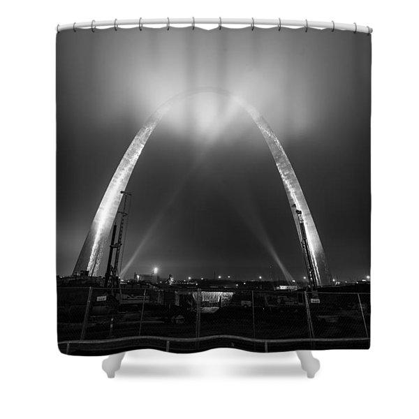 Jefferson Expansion Memorial Gateway Arch Shower Curtain