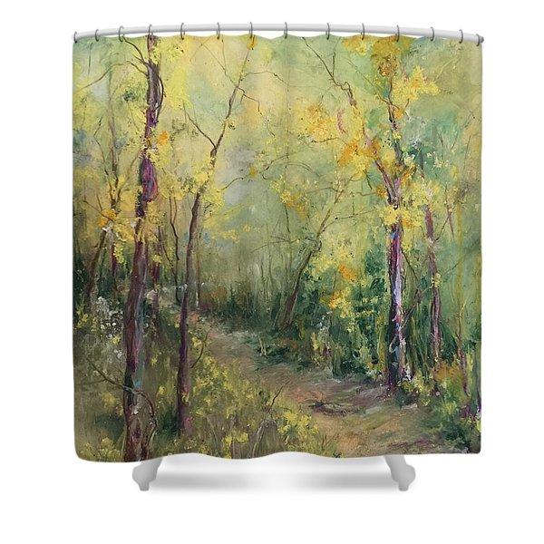Just A Little Walk Shower Curtain