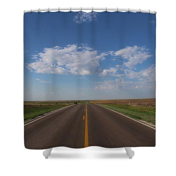 Kansas Road Shower Curtain