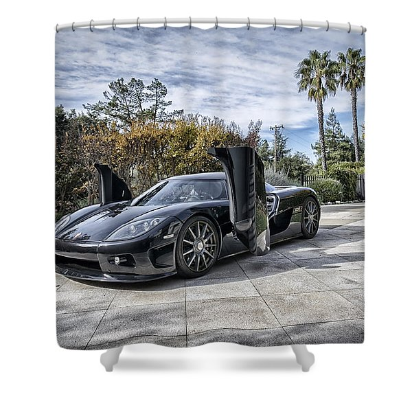 Koenigsegg Ccx Shower Curtain