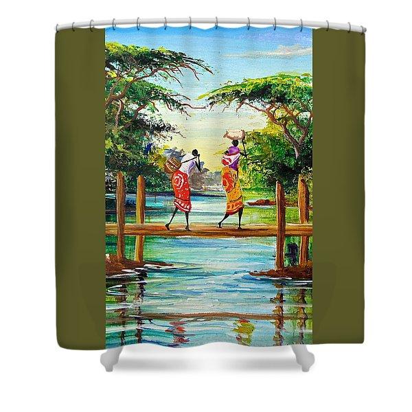 L 115 Shower Curtain