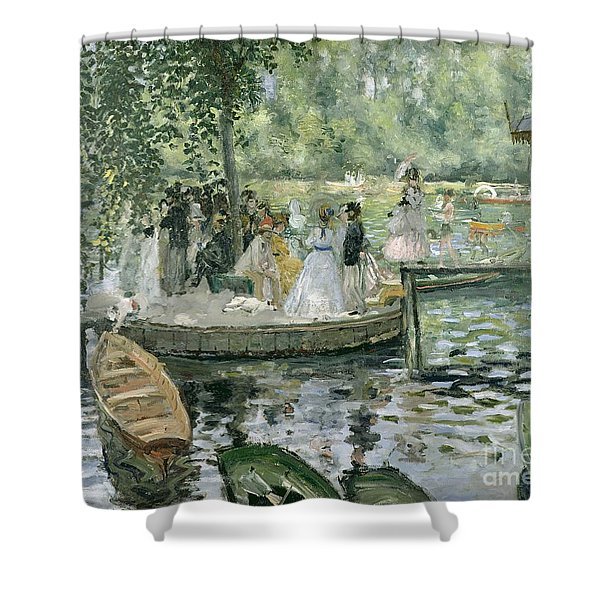 La Grenouillere Shower Curtain