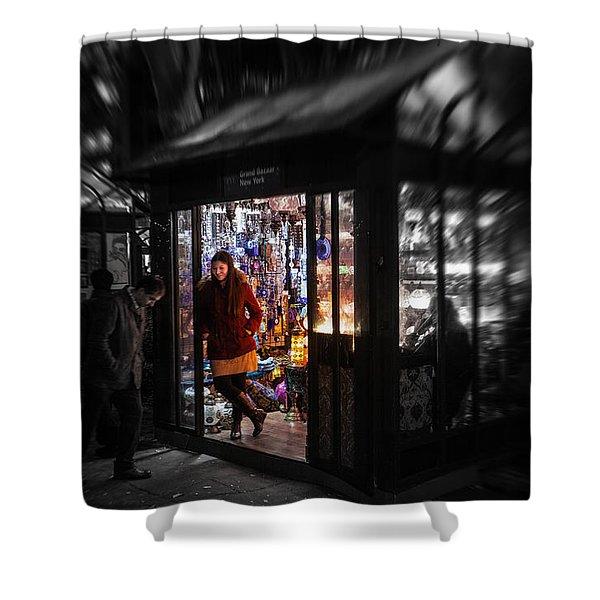 Lamp Shop Shower Curtain