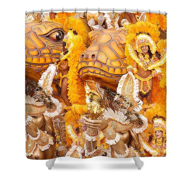 Lets Samba Shower Curtain