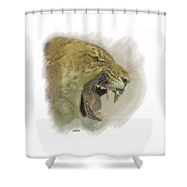 Liger Shower Curtain