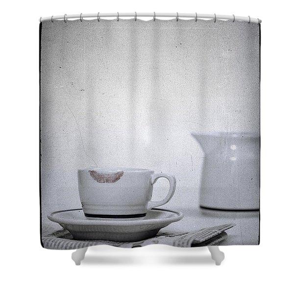 Lip Marks Shower Curtain